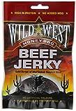 Wild West Beef Jerky Trockenfleisch Honey BBQ 50 Gramm