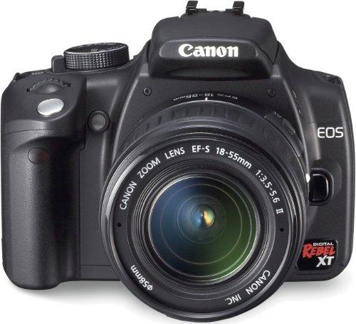 Canon EOS 350D - Cámara Réflex Digital 8 MP (Objetivo Canon EF-S 18-55mm)