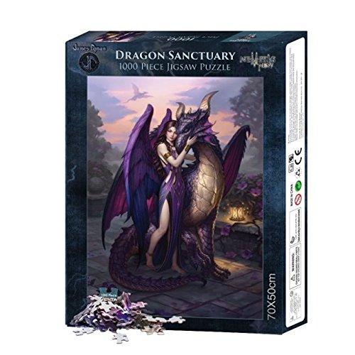 Dragon Sanctuary (1000pcs) Jigsaw Puzzle [Edizione: Regno Unito]
