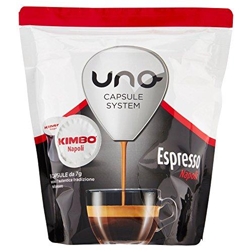 Kimbo Capsule Uno Espresso Napoli - 6 astucci da 16 Capsule - totale 96 capsule