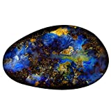 17.78 ct Fancy Shape (26 x 16 mm) Play of Colors Australian Koroit Boulder Opal Natural Loose Gemstone