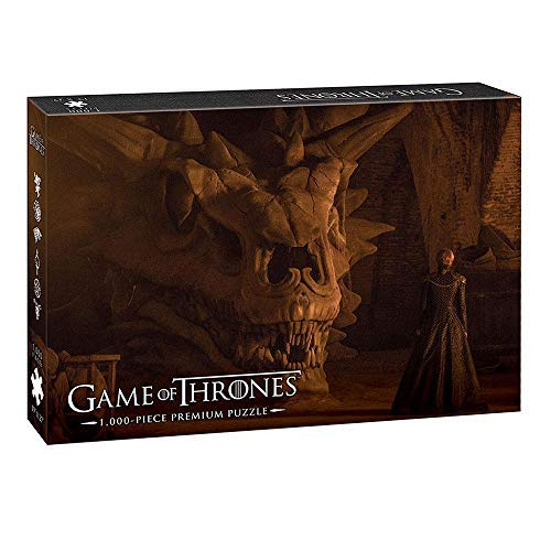 USAopoly Game of Thrones Premium Puzzle Balerion the Black Dread Puzzles