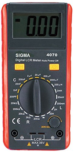 Sigma Instruments Digital Lcr Meter, (Battery Operated) - with Calibration Certificate