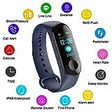 LIGE Fitness Tracker mit Pulsmesser Fitness Armband Wasserdicht IP67 Schrittzähler Uhr Pulsuhren Smart Armband Uhr Aktivitätstracker mit Schlaf Monitor Kompatibel mit Android iOS Smartphone