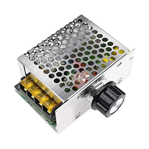 Junecat Controller Module 4000W 220V AC SCR velocità del Motore di Tensione elettronico Regolatore...