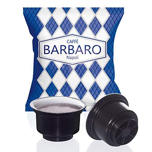 Capsule Caffitaly Compatibili Barbaro miscela blu Cremoso Napoli 100 pz
