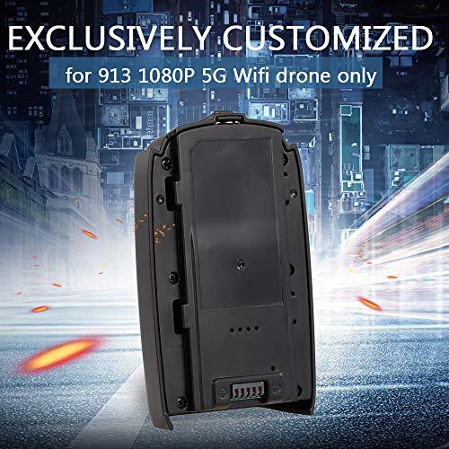 Leslaur 7.4V 1500mAh LiPo Batteria per 913 1080P 5G WiFi Drone Brushless GPS Quadcopter