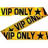 Dieses Goldene Absperrband setzt die Grenzen überdeutlich fest:VIP Only - Zugang ab hier nurfür einen bestimmten Personenkreis! Das Absperrband eignet sich als Dekoration für diverse Anlässe, etwa auf einer Kostümparty oder an Fasching. Doch auch f...