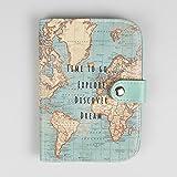 Uk passports blue is the new burgundy daily britain sass belle vintage world map passport holder gumiabroncs Gallery