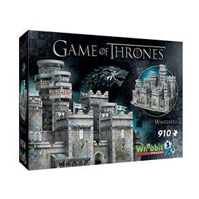 Wrebbit 3D- Castillo Game of Thrones Puzzle 3D Juego de Tronos Invernalia, Multicolor (W3D-2018)