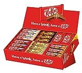 Nestlé Party Box (mit 6 Sorten KitKat und Lion, Schokoriegel-Mix, für große und kleine Naschkatzen, schokoladige Süßigkeiten) Großpackung, Menge: 68 Riegel (2,8Kg)