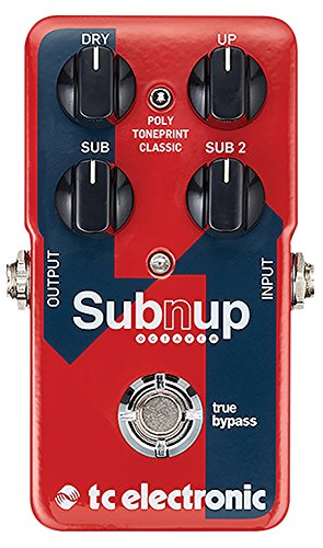 tc electronic Sub 'N' Up Polyphonic Octave Pedal