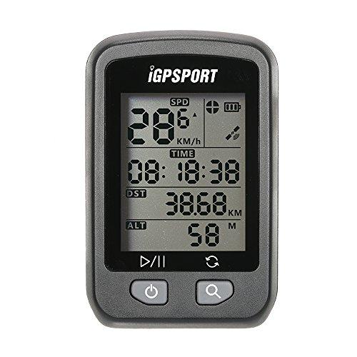 Lixada Computer GPS per Biciclette, iGPSPORT, Schermata Automatica Retroilluminazione, 25 ore di...