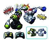 Silverlit - Robot Boxeur Combat Radio commandé Pack 2 Robots