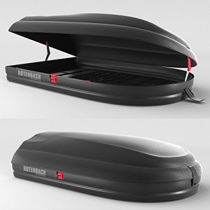 Rotenbach Dachbox Carbon 320 - ArtPlast BA320 Dachbox