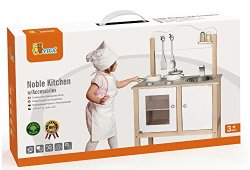 *Viga Toys – 50223 – Jeu D'imitation – Cuisine Noble – Blanc prêt à acheter