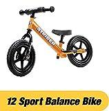 Strider 12 Sport No-Pedal Balance Bike (Orange)