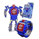 Orologio,watch,,Regalo di compleanno,assemblato Robot Giocattoli Bambini elettronico Guarda lo sviluppo dellintelligence Robot giocattolo deformato