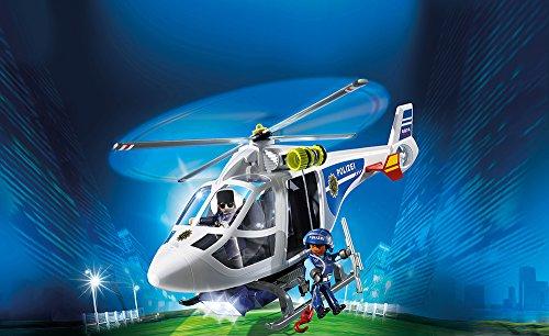PLAYMOBIL 6874 – Polizei-Helikopter mit LED-Suchscheinwerfer - 2