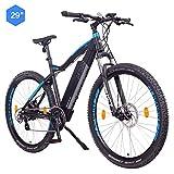 "NCM Moscow Bicicletta elettrica Mountainbike, 250W, Batteria 48V 13Ah 624Wh (Nero 29"")"
