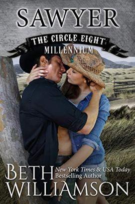 Sawyer (Circle Eight Millennium Book 5) by [Williamson, Beth]