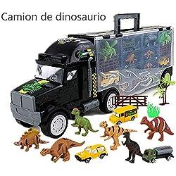 Local Makes A Comeback - Modelo sobredimensionado de aleación de dinosaurio para auto, contenedor contenedor de camiones, juguetes educativos, 3-6 años de edad, regalo de cumpleaños para niño