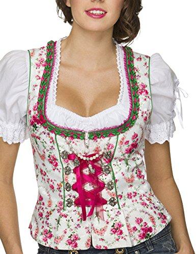 Stockerpoint Damen Trachtenbluse Mieder Ramona Weiß (Weiss), 34 - 5