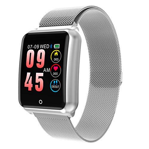Smartwatch Impermeabile Uomo,GOKOO Orologio Sportivo Uomo Donna Impermeabile IP67 Attività Tracker...