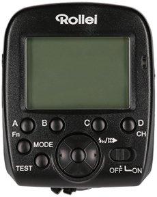 Rollei Pro Radio Transmitter 2.4 G for Canon / Nikon - Transmisor de flash de 2,4 GHz profesional para Flash Rollei 56F y 58F Canon / Nikon - Negro