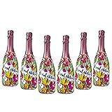 Sparpaket Valdo Rosé Brut Floral Edition (6 x 0,75l) mit Original Valdo Flaschenverschluß