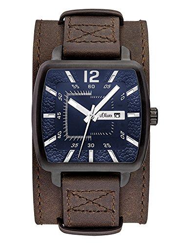 s.Oliver Herren-Armbanduhr SO-3048-LQ