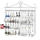 Sannix Jewelry Hanger Holder stand organizer per orecchini/collane/braccialetti White