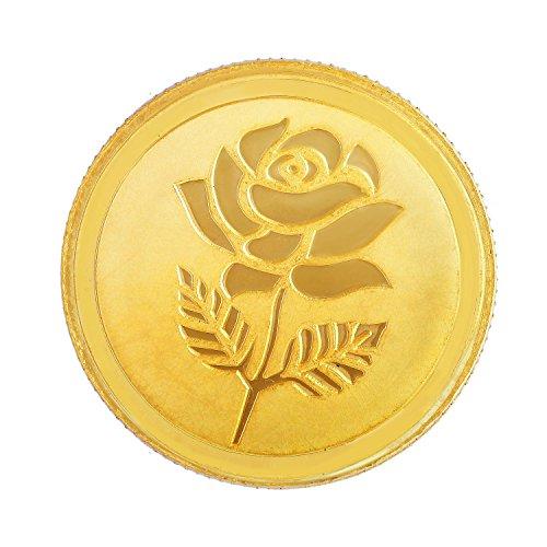 Malabar Gold and Diamonds 2 gm, 24k (999) Rose Gold Coin