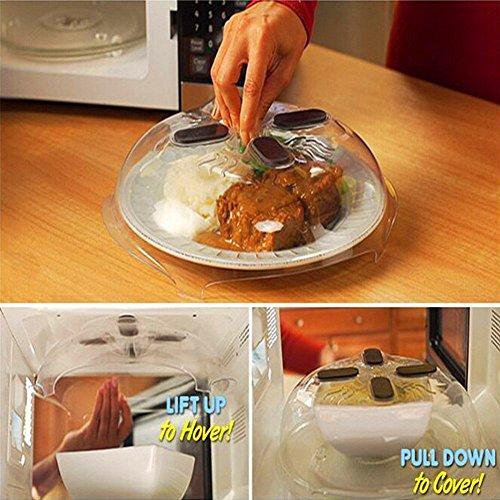 Microonde Hover cover, cibo coperchio paraschizzi piastra copertura lavabile in lavastoviglie e...