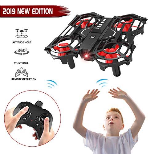 Joyjam Giocattoli per Bambini Ragazze 5-12 Anni Mini Drone per Bambini Elicottero Telecomandato...