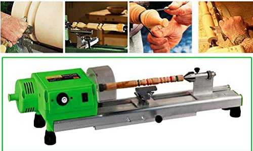 ToolsCentre 480w Precision Woodworking Mini Lathe Machine (480w, Green)