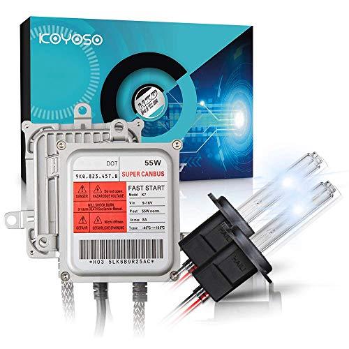 KOYOSO H7 Xenon Lampadine Canbus Kit di Conversione HID 55W Premium Decodifica Reattori Lampade di...