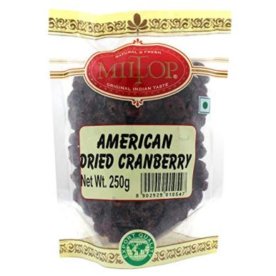 Craneberry American Dried Cranberry, 250g 18