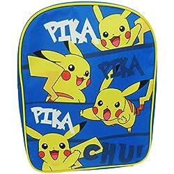 Pokemon Mochila infantil, azul (azul) - POK001007