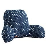 Cojín lumbar en forma de cuña, para la espalda, el cuelo y las piernas. Ideal para el sofá, la cama o como decoración, H, L (65 * 40 * 26cm)