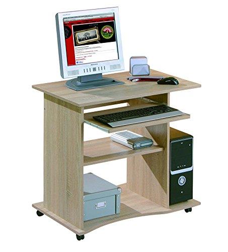 Links - Office 6 - Porta pc. Dim: 80x50x75 h cm. Col: Rovere. Mat: Legno massello.