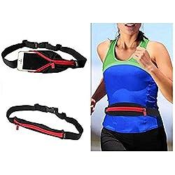 GKP Products ® Universal Sports Running Waist Pocket Belt Case For All Mobiles Model 410036