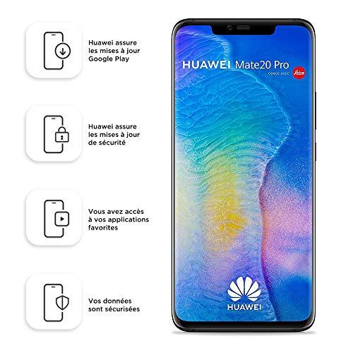 Smartphone Dual SIM Huawei Mate20 Pro de 128 GB / 6 GB - Negro (Europa occidental) (enchufe de 2 clavijas)