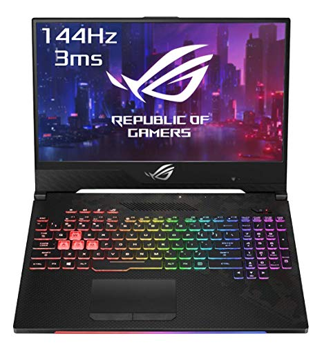 "Asus ROG SCAR2-G515GW-ES023T PC Portable Gamer 14"" FHD Dalle 144Hz (Intel Core i7-8750H, RAM 16Go DDR4, HDD1 1To + 256Go SSD PCIE, Nvidia RTX 2070 8Go, Windows 10) Clavier AZERTY Français"