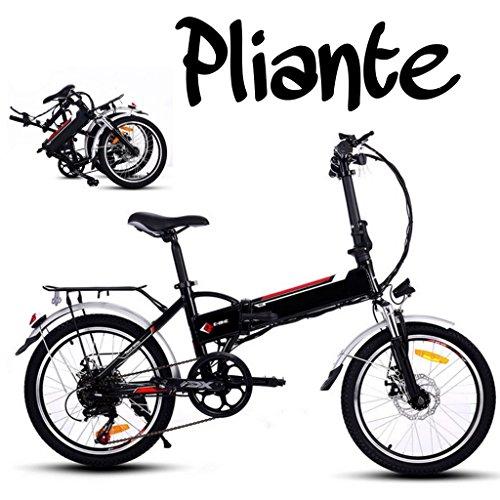 Befied-20inch-Vlo-de-Montagne-lectrique-Pliante-7-Vitesse-E-Bike-VTT-en-Alliage-daluminium-Cadr-Charg-150kg-Chargeur-Premium-Suspendu-36V-250W-Moteur-36V-Batterie-Lithium-ion