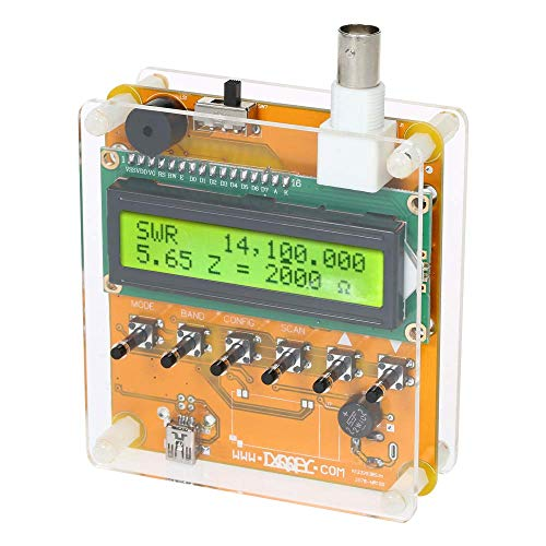 KKmoon Digital Shortwave Antenna Analyzer Meter Tester For Ham Radio Q9 1~60M