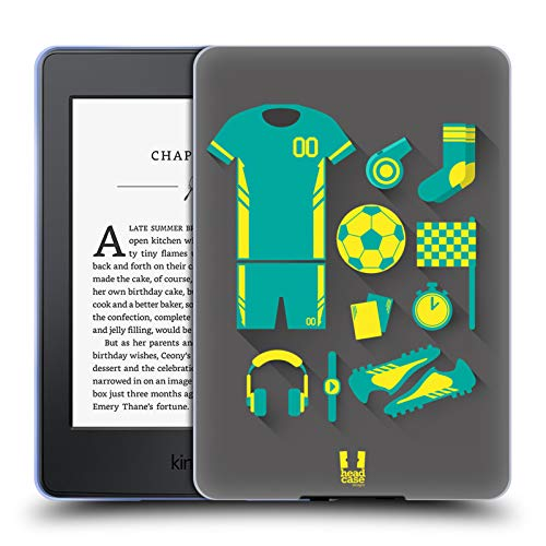 Head Case Designs Football Starter Pack Soft Gel Case Compatible for Kindle Paperwhite 1/2 / 3 1  Head Case Designs Football Starter Pack Soft Gel Case Compatible for Kindle Paperwhite 1/2 / 3 51s 2B1 2B8fIGL