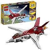 LEGO Creator L'avion futuriste Jeu de construction, 7 Ans et Plus, 157 Pièces  31086