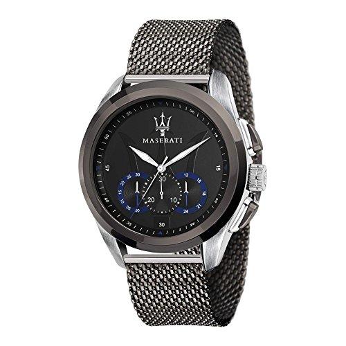 MASERATI Orologio Cronografo Quarzo Uomo con Cinturino in Acciaio Inox R8873612006