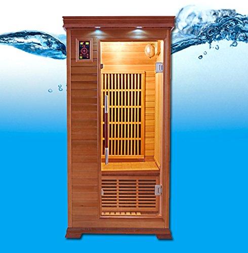 Sauna infrarrojos 1 persona lujo LUXE1